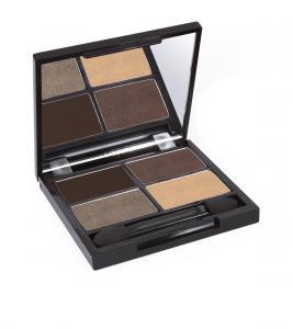 Zuii Organic Flora Eyeshadow Quad Palette Natural