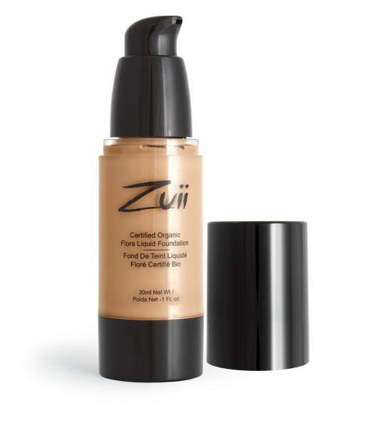 Zuii Certified Organic Flora Liquid Foundation Natural Bisque