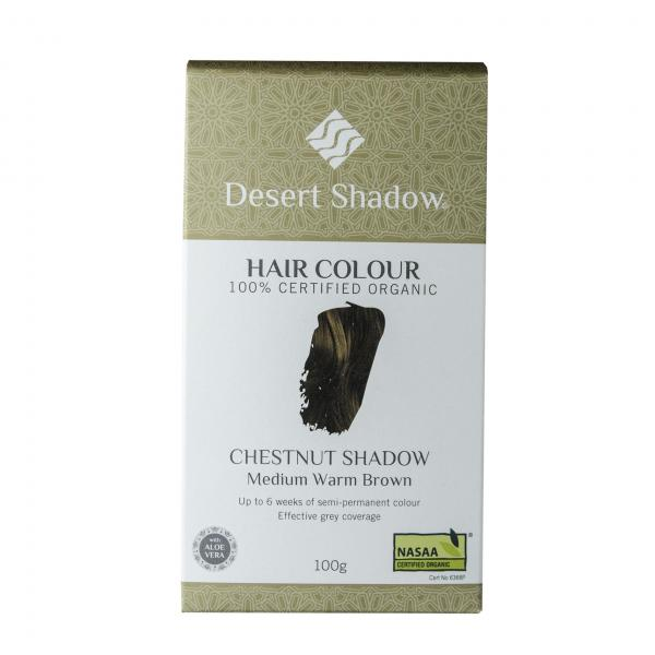 Desert Shadow Organic Hair Dye Chestnut Shadow