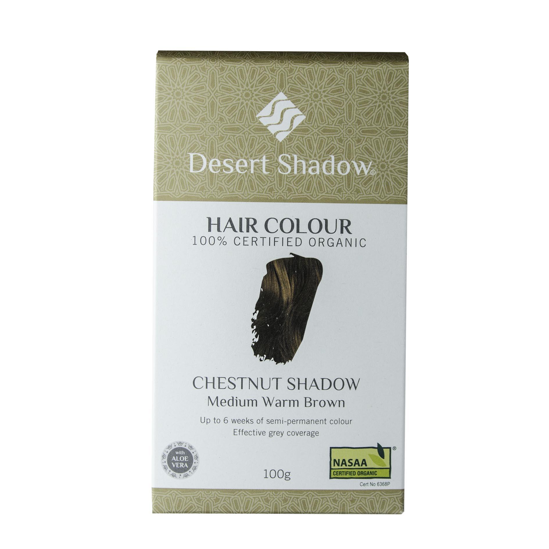 Desert Shadow Organic Hair Dye Chestnut Shadow