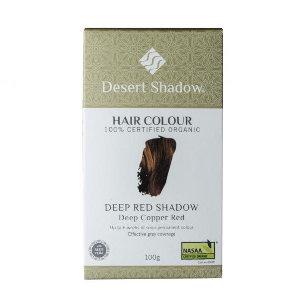 Desert Shadow Organic Hair Dye Deep Red Shadow