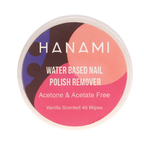 Hanami Nail polish Remover Wipes