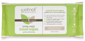 Wotnot Travel Wipes Extra Large 20 Pack