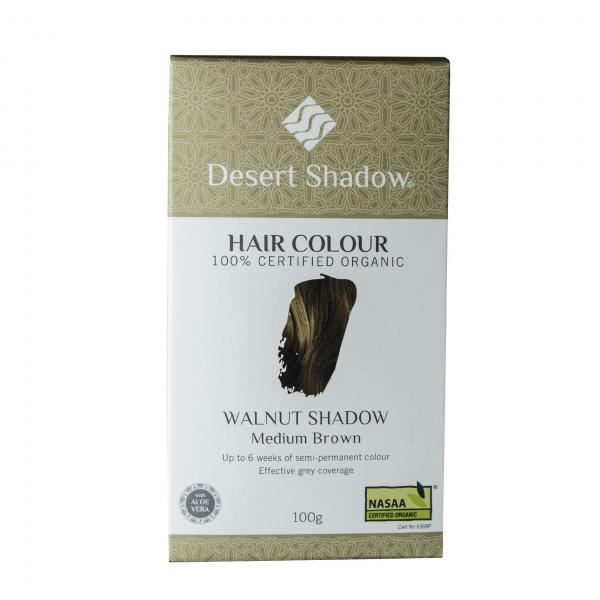 Desert Shadow Organic Hair Dye Walnut Shadow