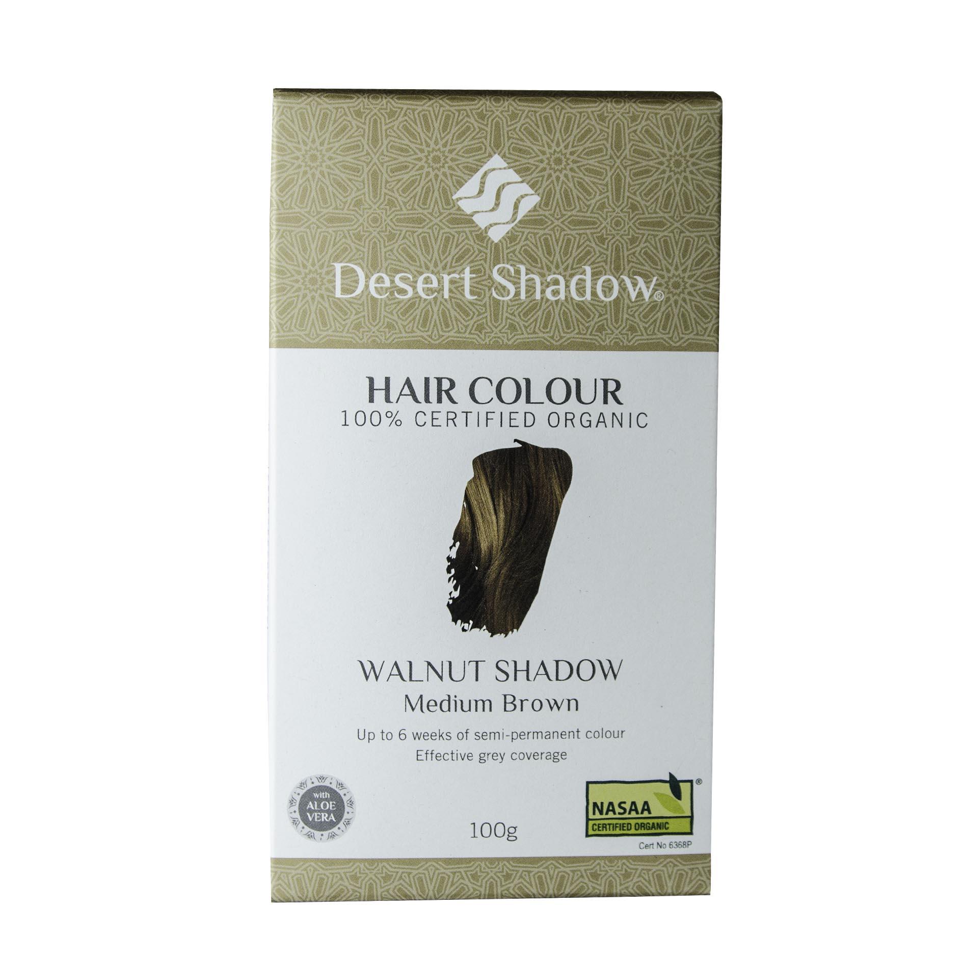Desert Shadow Organic Hair Dye Walnut Shadow