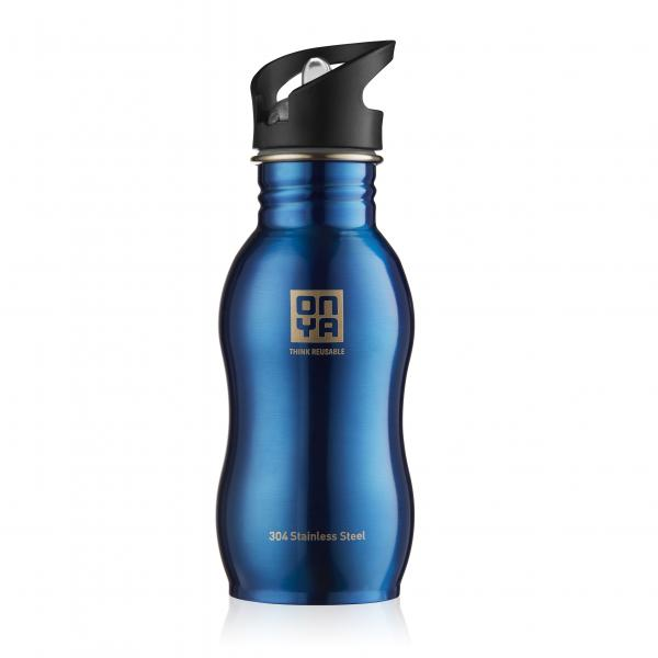 Onya Stainless Steel Drink Bottle 500ml Blue