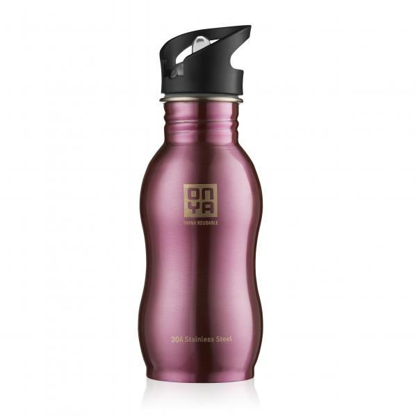 Onya Stainless Steel Drink Bottle 500ml Pink