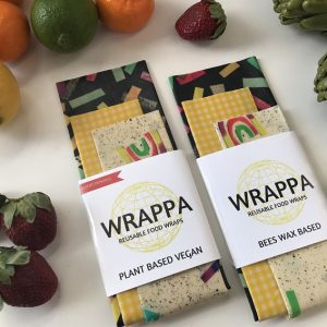 Wrappa Vegan Food Wraps-confetti