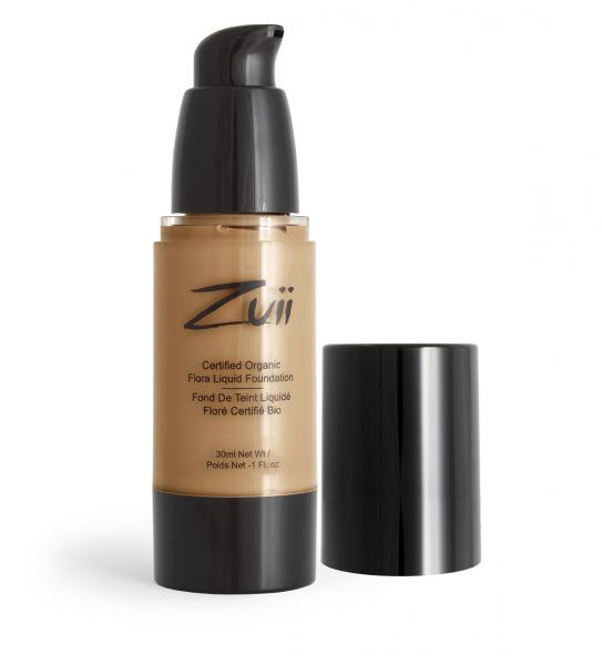 Zuii Certified Organic Flora Liquid Foundation-Natural Ivory