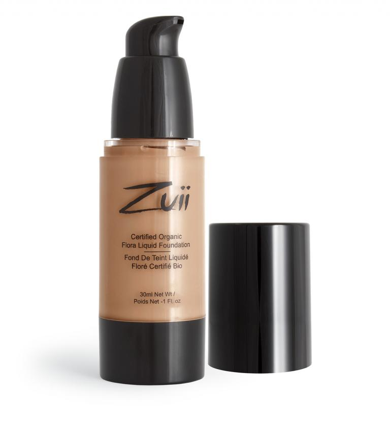 Zuii Certified Organic Flora Liquid Foundation-Warm Amber
