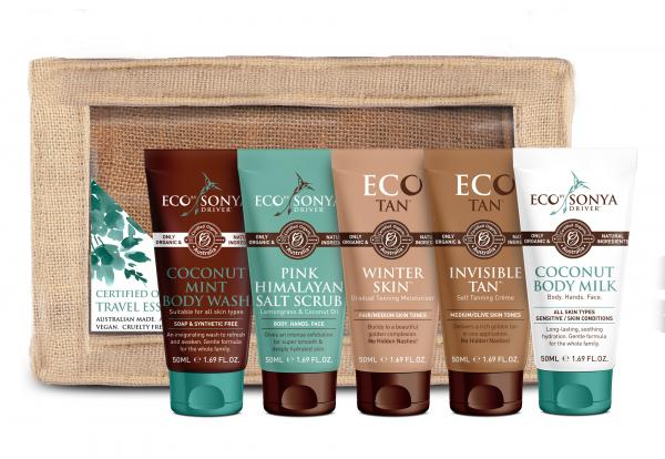Eco Tan Eco by Sonya Driver Certified Organic Travel Essentials Pack