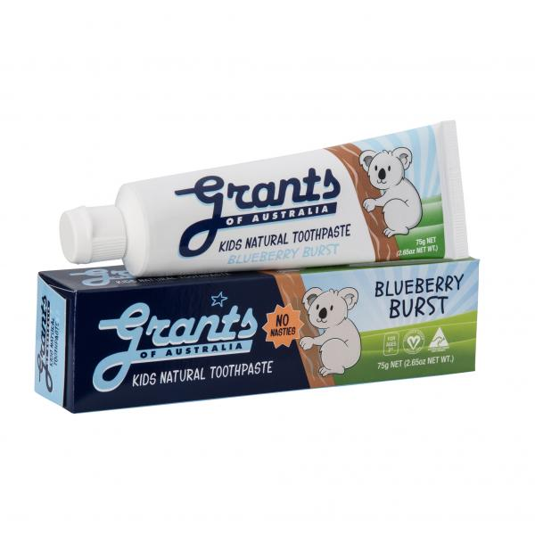 Grants Kids Toothpaste Blueberry Burst 75g