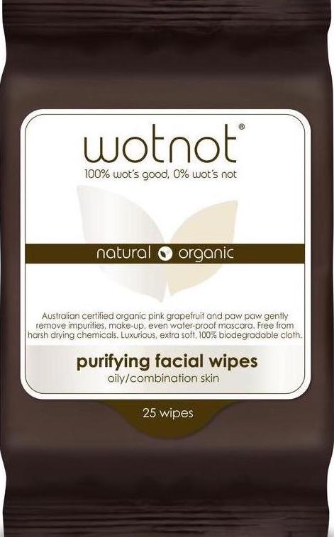 Wotnot Purifying Facial Wipes 25's