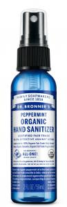 Dr Bronner's Organic Peppermint Hand Sanitiser 59ml